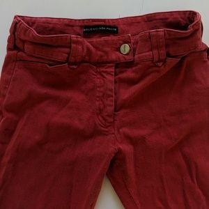 Balenciaga Red Jeans